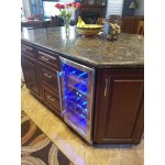 under the counter wine cooler
