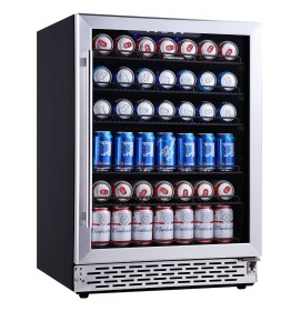 24 Inch Beverage Cooler Beer Fridge Cooler 150 Can Drinks Fridge Beverage Refrigerator Drink Cooler Beer Refrigerator