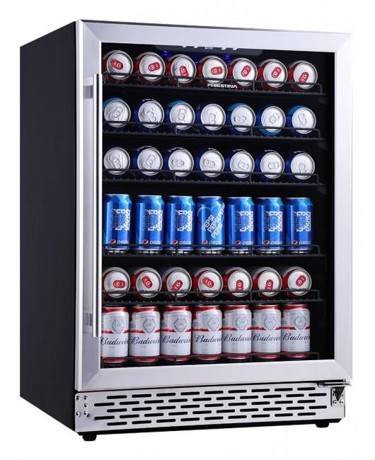 24 Inch Beverage Cooler Beer Fridge Cooler 150 Can Drinks Fridge Beverage Refrigerator Drink Cooler Beer Refrigerator