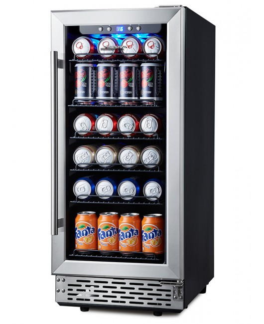 15 Inch Under The Counter Beverage Cooler Built In Beverage Coolers 96 Can Beverage Cooler Cabinet Beer Fridge Drinks Fridge